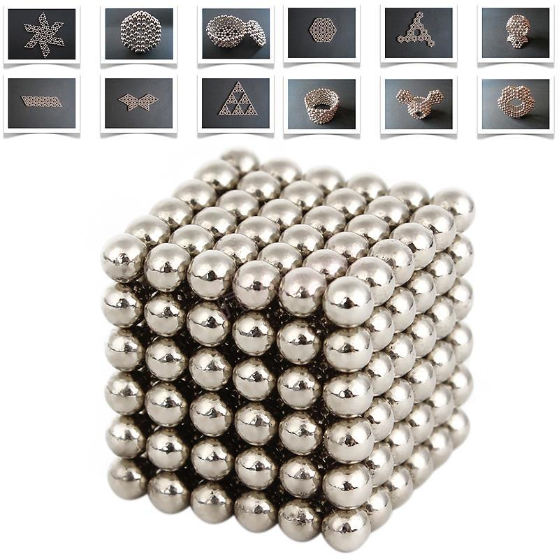 Multi-Molding 3mm 216 Pcs Neodymium Magnetic Balls Silver Color Magic Cube Balls Education Toys For Children Child(China (Mainland))