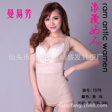 The new man Yi Fang thin Jones Ding conjoined corset abdomen hip slimming garment factory direct(China (Mainland))