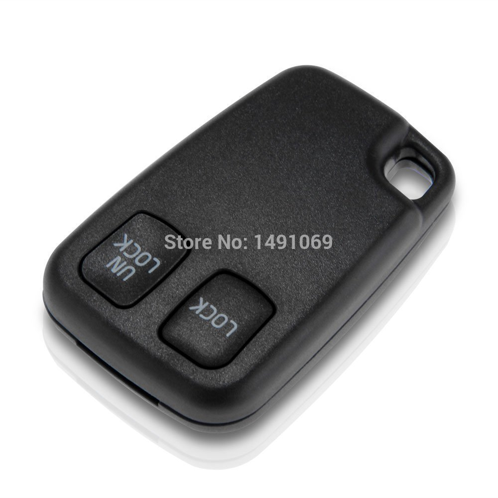 Replacement Remote Key Case Shell VOLVO S40 S60 S70 S80 S90 V40 V70 V90 XC70 XC90 Fob 2 Button<br><br>Aliexpress