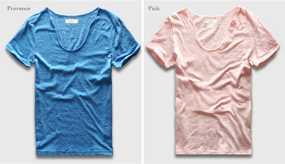 HTB15MEIPXXXXXcsXVXXq6xXFXXXm - Men Basic T-Shirt Solid Cotton V Neck Slim Fit Male Fashion T Shirts Short Sleeve Top Tees 2017 Brand