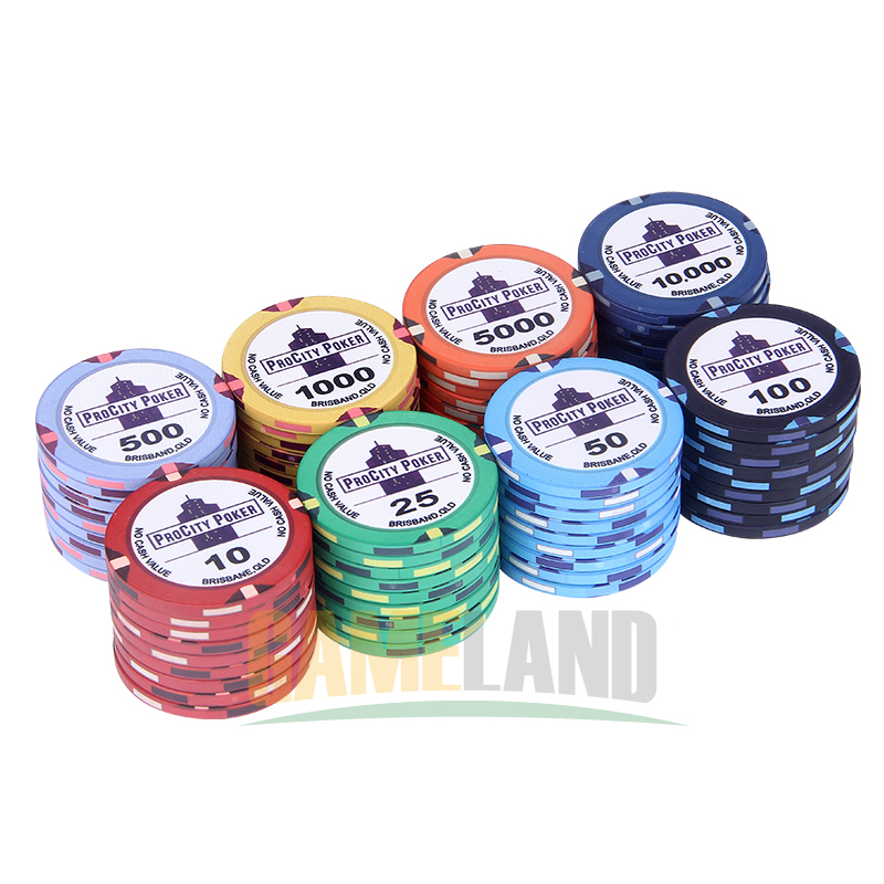 keramik pokerchips