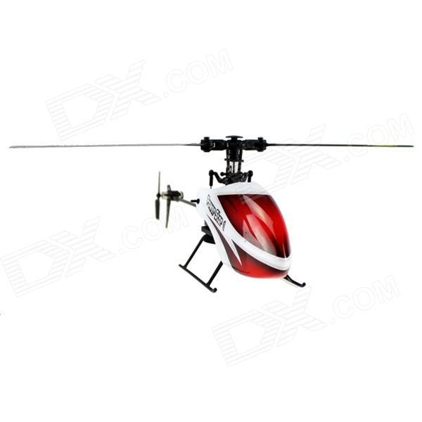 Hot Sell Wltoys 6CH V966 drone 3D Outdoor Flybarless RC Helicopter Single Blade Gyro LCD 6-axis Power Star X1 Quadcopter VS V977(China (Mainland))