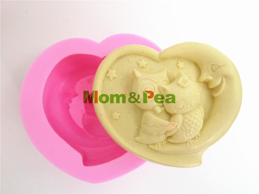 Love Shape Cake Decoration : Aliexpress.com : Buy Mom&Pea 0009 Free Shipping Owls Love ...