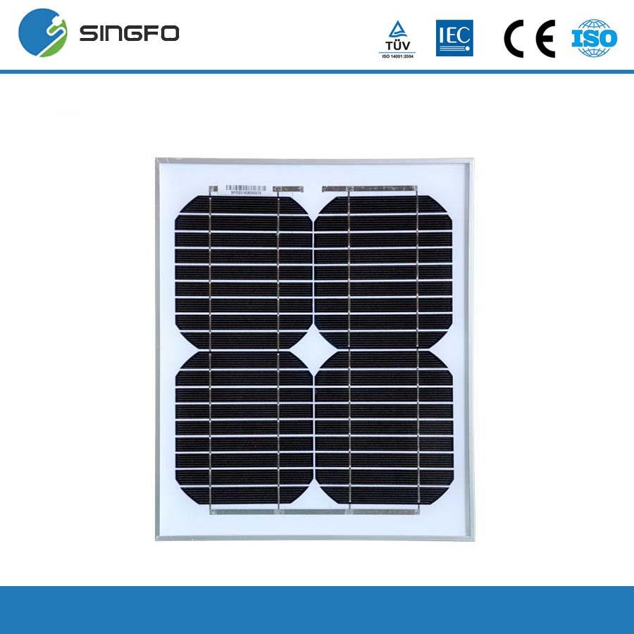 Cheap China 12V Solar Panel 10W Monocrystalline PV Module Mini Solar Kits Portable Small Solar Panel For Phone PVM10(China (Mainland))