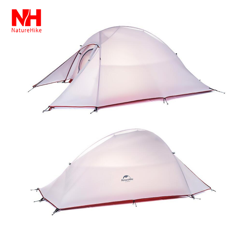 Hot Sell!2015 Outdoor Camping Tent Double Layer Aluminum Pole Double Tents High Quality Ultralight Four Seasons Tent NatureHike