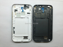 Original  For Samsung Galaxy Note 2 GT-N7100 N7100 Full Housing Case Middle Frame+Battery Cover(China (Mainland))