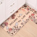 Doormat Balcony Door Mats Non Slip Area Rug Printed Welcome Floor Mats for Kitchen Carpets Home