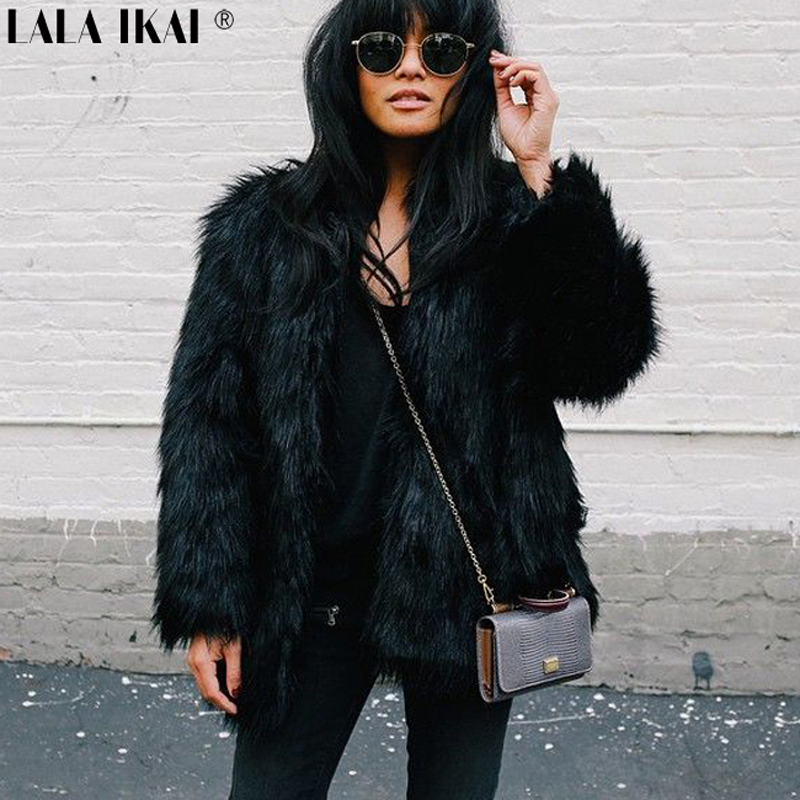 Short Faux Fur Coats - Tradingbasis