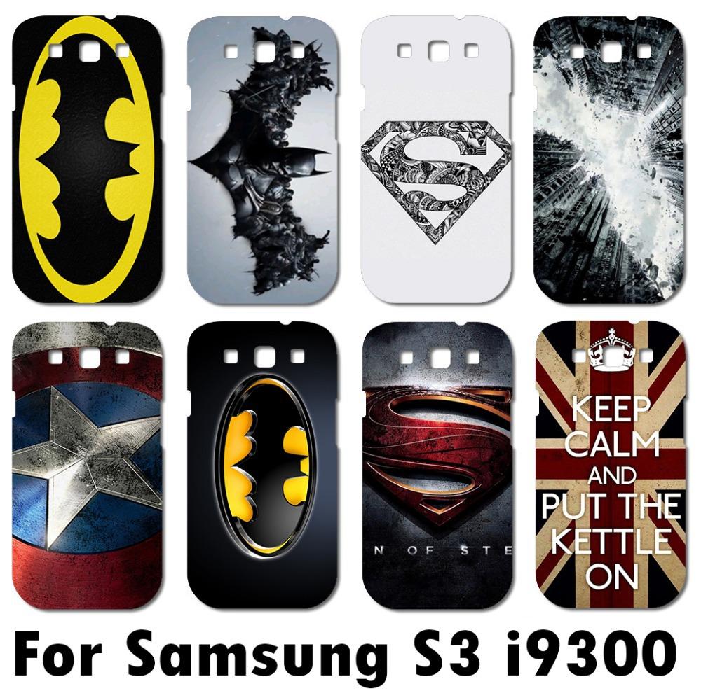 Case Design customized phone cases for galaxy s3 : ... fu00fcr samsung galaxy s3 i9300 Superman superman-logo batman handy fall