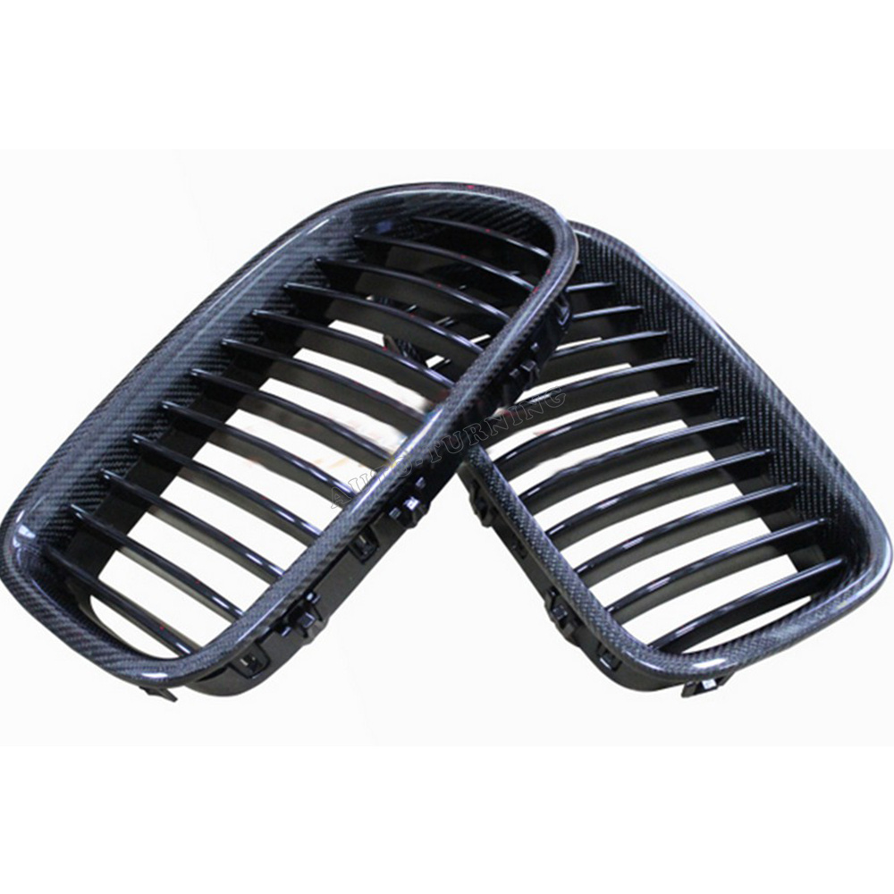 Carbon fiber + ABS  5Series Front kidney Bumper mesh Grill grille For BMW (Fits  F18 F11 F10 2011-2013 )<br><br>Aliexpress