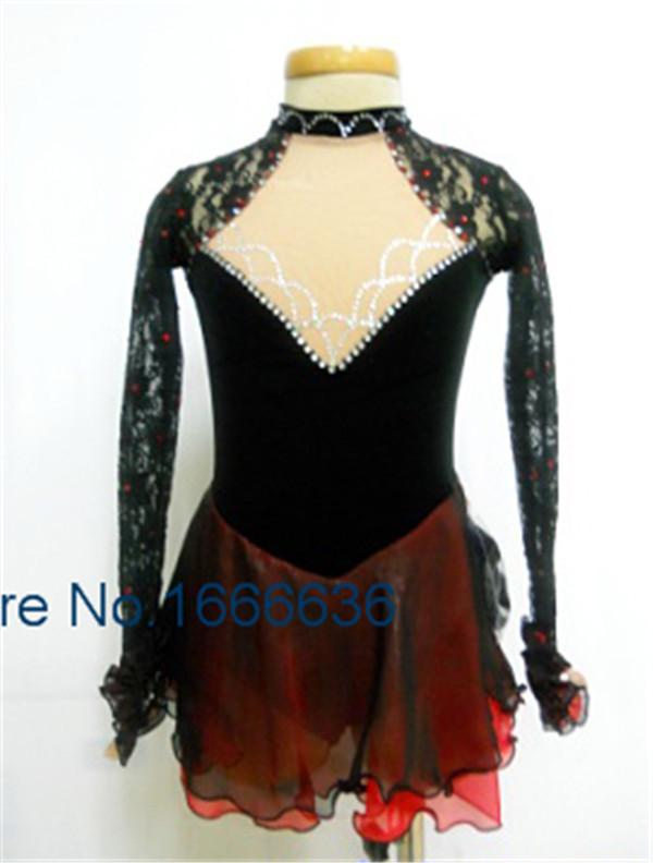 2015 Custom Ice Skating Dresses For Girls New Brand Vogue Figure Skating Competition Dress  For Women  DR3038Одежда и ак�е��уары<br><br><br>Aliexpress