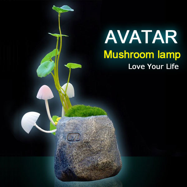 Gift Avatar cartoon LED sleep light lamp LED table lamp mushroom lamp,Energy saving Light Free shipping Dropshipping(China (Mainland))