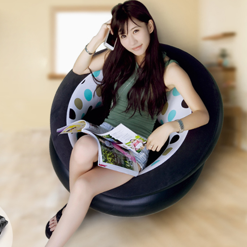 Leisure Inflatable Sofa Chair Living Room Furniture Window Floor Sofa Bean Bag Chair Outdoor Camping Tourism Corner Sofa(China (Mainland))