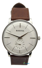 8mm Ultra Thin Rodina Classical Men's Hand Wind Wrist Watches OEM By Seagull St17