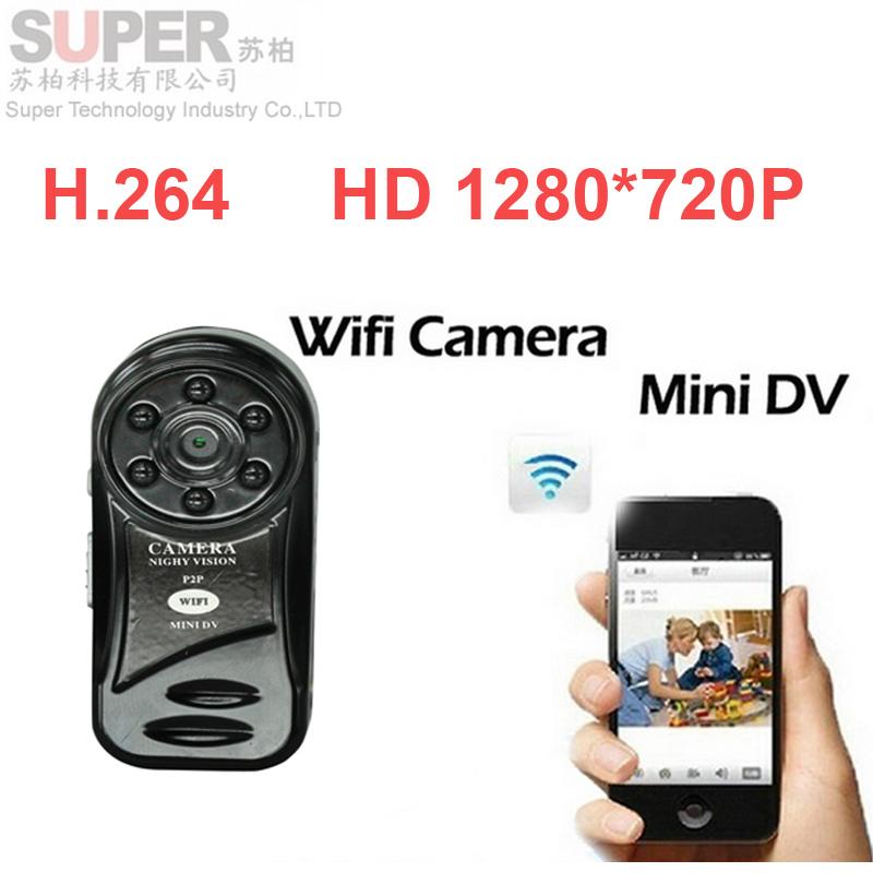 HD93E3 HD 720P WiFi camera Mini DV Wireless IP Camera wifi camcorder Video Record wifi Remote by Phone mini camera W/ IR LED(China (Mainland))