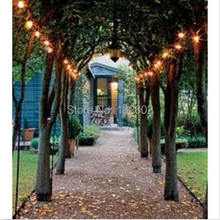 8 Modes Warm White Solar Powered 100/200 Lights LED Outdoor Garden Christmas String Party Fairy Lights Lamp Decoration