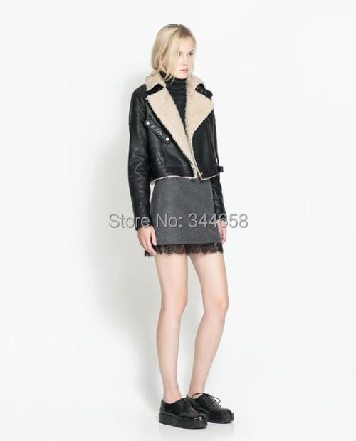 2014 Autumn Winter Woolen Basic Short mini Skirts Women brand saia Hip Many Colors Classic Fashion wool plus size - The only design studio store