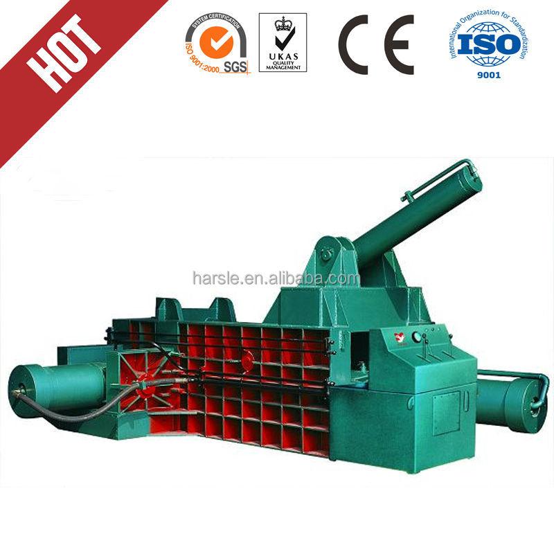 Hot selling sheet mateal cutting machine hydraulic waste metal baler(China (Mainland))