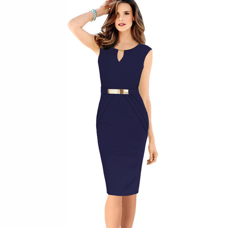 robe paillettes femme 2016 Summer Fashion Elegant Small V-Neck Silm Sheath Pencil Dress With Metal Sheets Size S-XXXXL(China (Mainland))