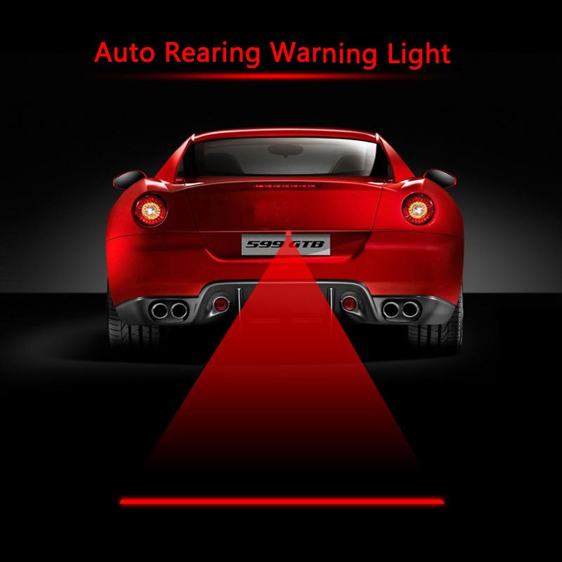12V Car Laser Fog Lamp Anti-Fog Light Auto Rearing Warming Light For Audi,Bmw,Ford,Toyota,Volkswagen(China (Mainland))