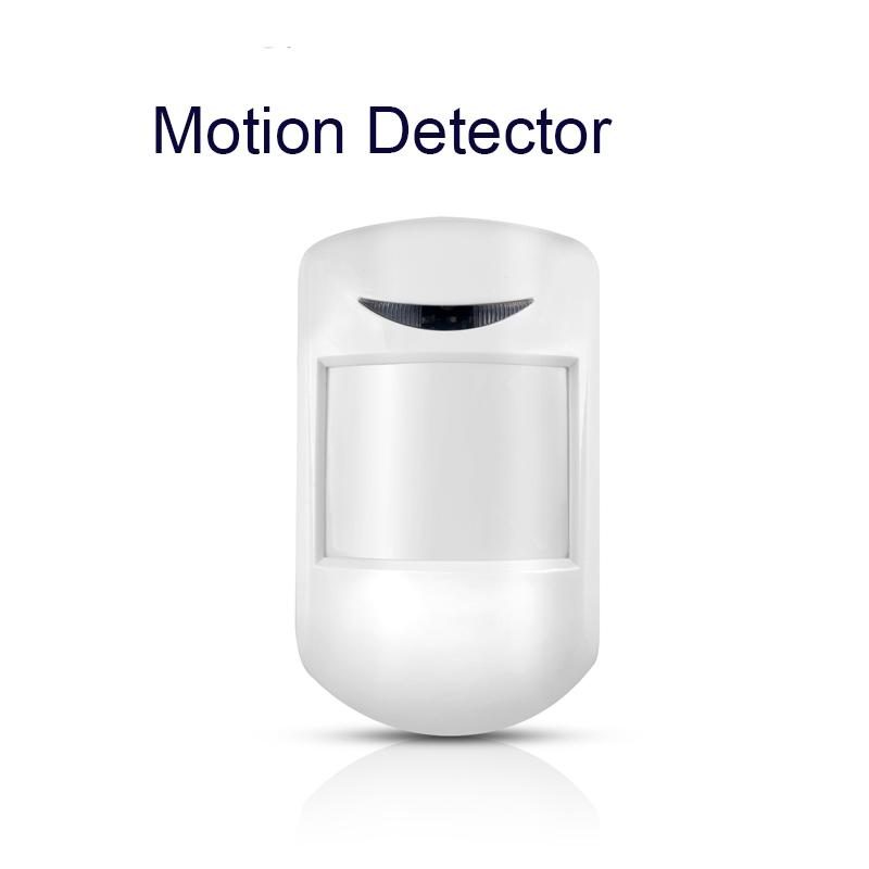 sensitivity 433mhz human motion sensor pir detector for alarm home perimeter security system with micro USB port(China (Mainland))