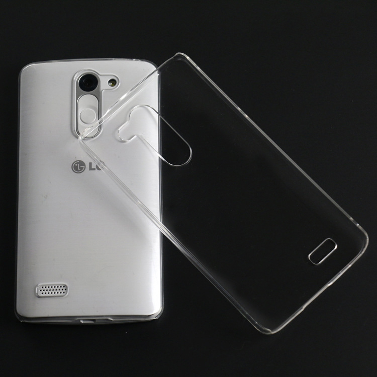 1PCS 0.3MM Ultra Thin High Clear Transparent Case For LG L Bello D335 D331 Clear PC Phone Back Cover For LG L Bello Mobile Skins(China (Mainland))