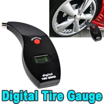 5 to 150 PSI Digital LCD Car Bike Motor Tire Tyre Air Pressure Gauge Tester Psi kpa bar kg/cm2 truck meter vehicle monitoring