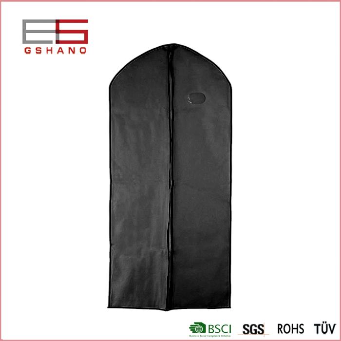 3 Pcs Suit Bag Cover Clothing Coat Wedding Dress Organization Wardrobe Transparent Windows Non-woven Fabric Dustproof Cover(China (Mainland))