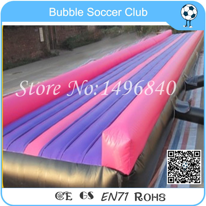Free Shipping 20 Feet Inflatable Gym Mat For Gym Training