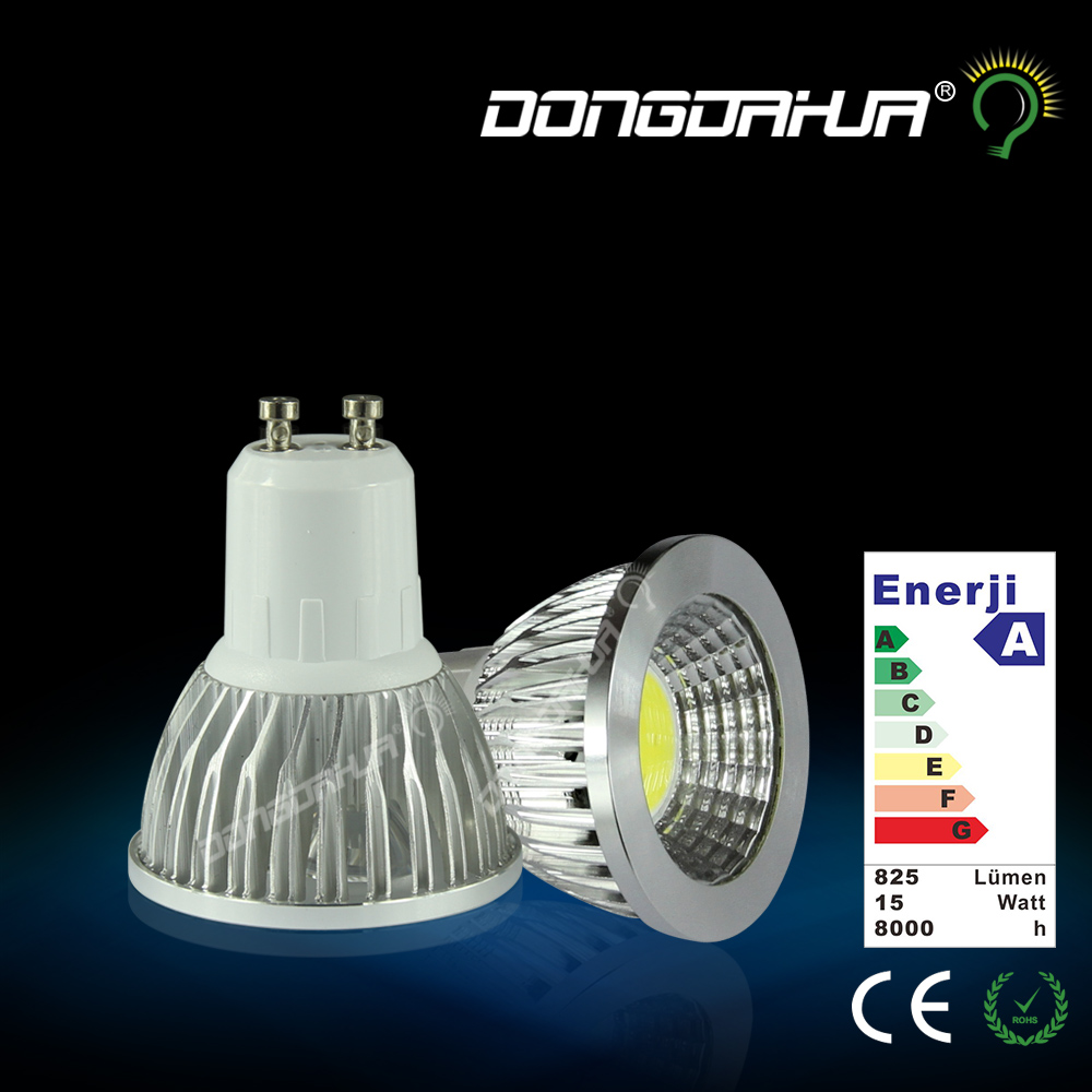 1pcs 3W 5W 7W 9W GU10 MR16 COB LED Bulb Spot Light Lamp AC85V-265V Dimmable Lighting Warm/Cold White(China (Mainland))