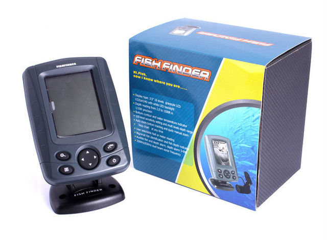 3.5 inch sonar fishing boat sonar fish finder multi language, Fish Finder