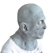 Halloween LATEX RUBBER FANCY DRESS HEAD Horrible old man MASK