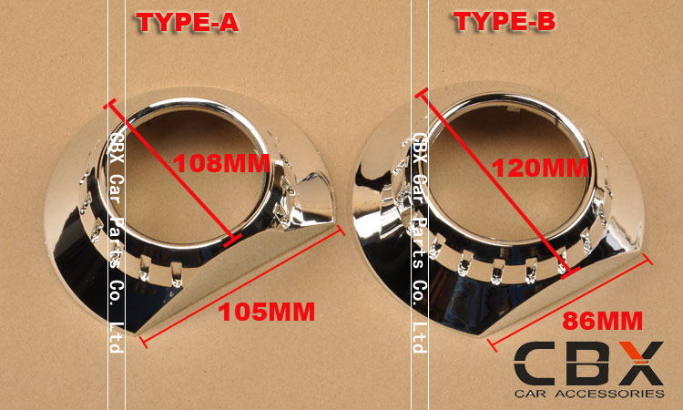 3.0 inches projector lens masks zkw a-b