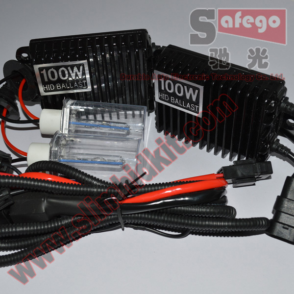 1set High power super bright hid xenon kit 100W AC hid kit for cars H1 H3 H7 H8 H9 xenon 100w 4300K 5000k 6000K 8000K hid 100w <br><br>Aliexpress