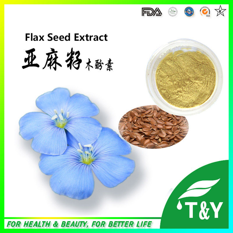Factory supply best price Flaxseed extract powder ( SDG ) 700g
