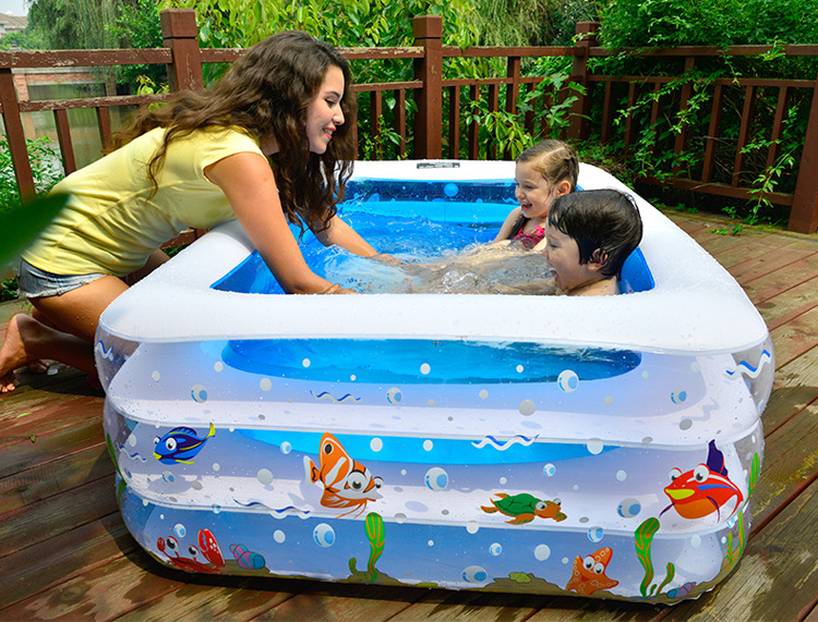 2016 Hot Sale Baby Baby Children Swimming Pool Inflatable Warm Family Swimming Pool Pool Large