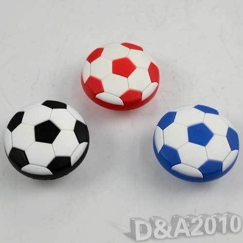 2015 Pretty Style Soft Football Cabinet Cupboard Door Drawer Pull Knob Handle Kids Room Decor(China (Mainland))