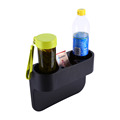 Auto Truck Car Seat Drink Cup Holder Valet Beverage Can Bottle Food Mount Stand Box Organizer