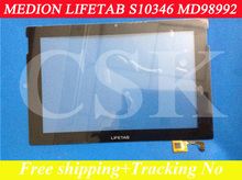 (Ref:MEDION LIFETAB S10346 MD98992 )MEDION LIFETAB S10346 MD98992 touch panel digitizer glass touch screen for tablet