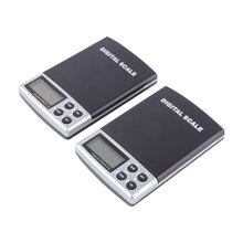 2000g x 0.1g Scale – Portable LCD Display Mini Pocket Electronic Scales