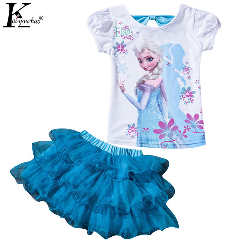 Summer Girls Dress Fashion Baby Clothes For Girls MOANA Set Children Clothing Sets Short Sleeve Kids Tracksuit For Girls Clothes(China (Mainland))