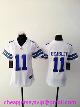 Stitched Women Ezekiel Elliott Cole Beasley Dez Bryant Roger Staubach Gregory Thanksgiving Throwback For Ladies(China (Mainland))