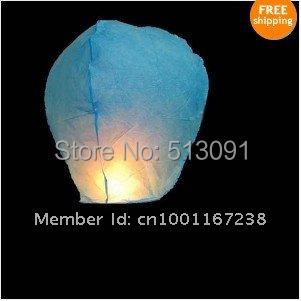 Wholesale 2015 Lanterns 300pcs/lot Sky Lanterns Fay Balloon Festival Wish Night Lights,paper lantern Free Shipping