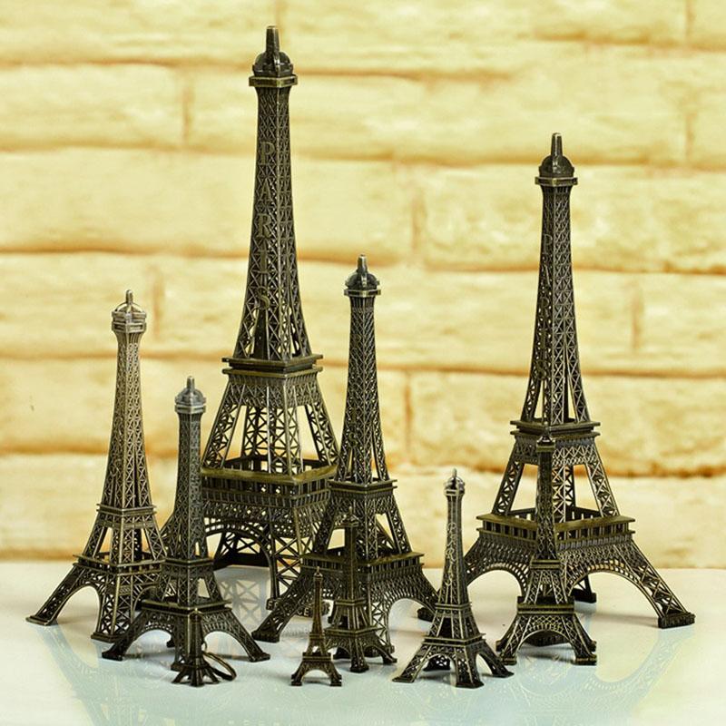 Tower Christmas Decoration Mini Romantic Eiffel Tower Desk Bedroom