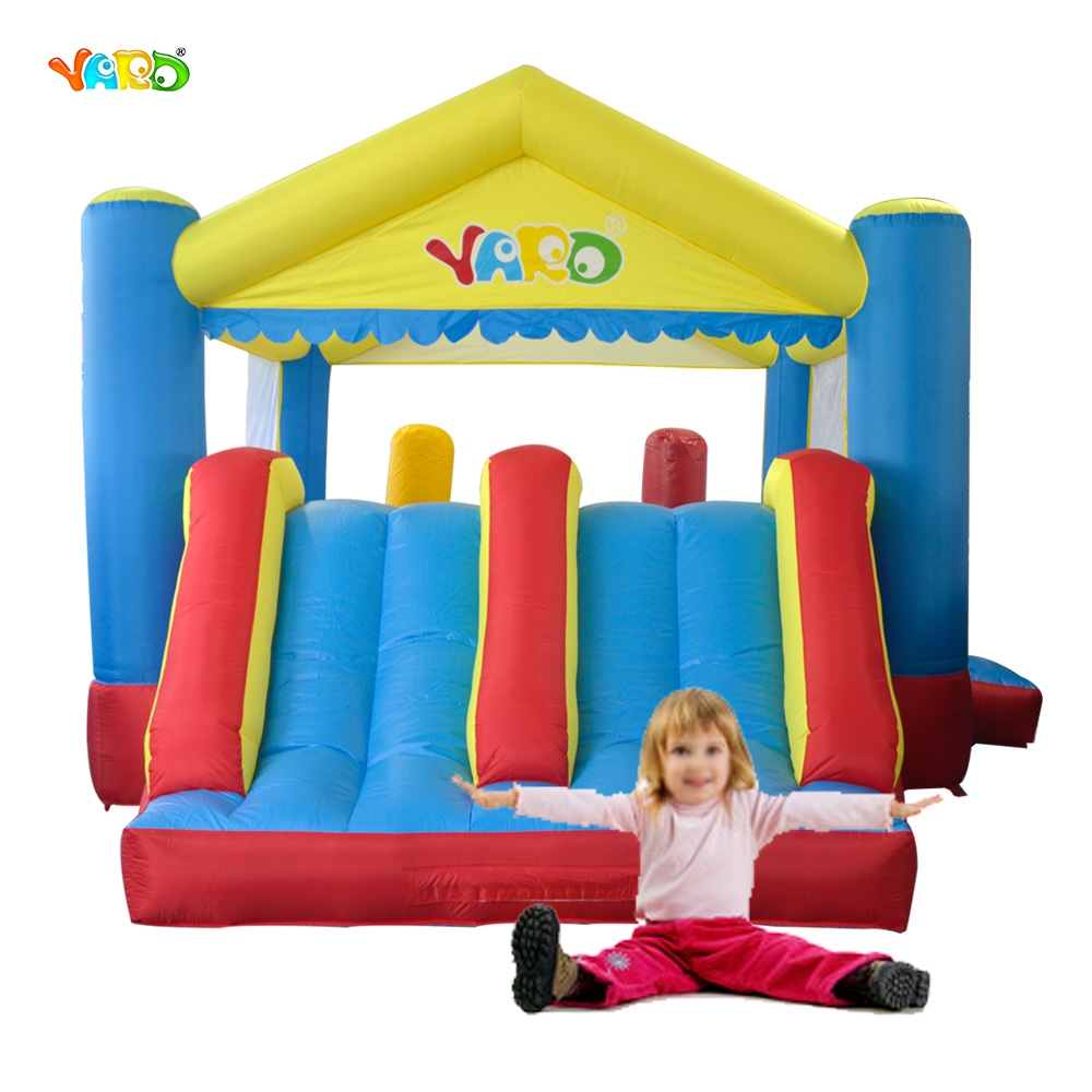 YARD Double Slide Bounce House Outdoor Jumping Castle Children Inflatable Toys Special Offer for Africa(China (Mainland))