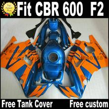 Buy Customize fairing kit for HONDA CBR 600 F2 1991 1992 1993 1994 fairings CBR600 91 92 93 94 orange blue black CV64 for $306.90 in AliExpress store