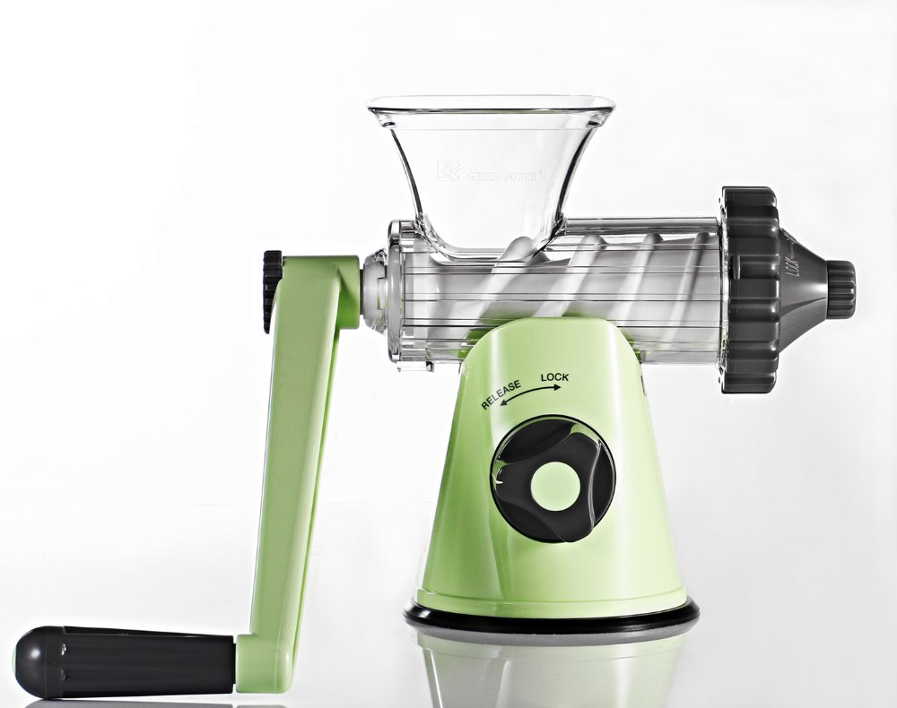 Hand Operated Slow Juicer : Image Gallery Manual Juicer