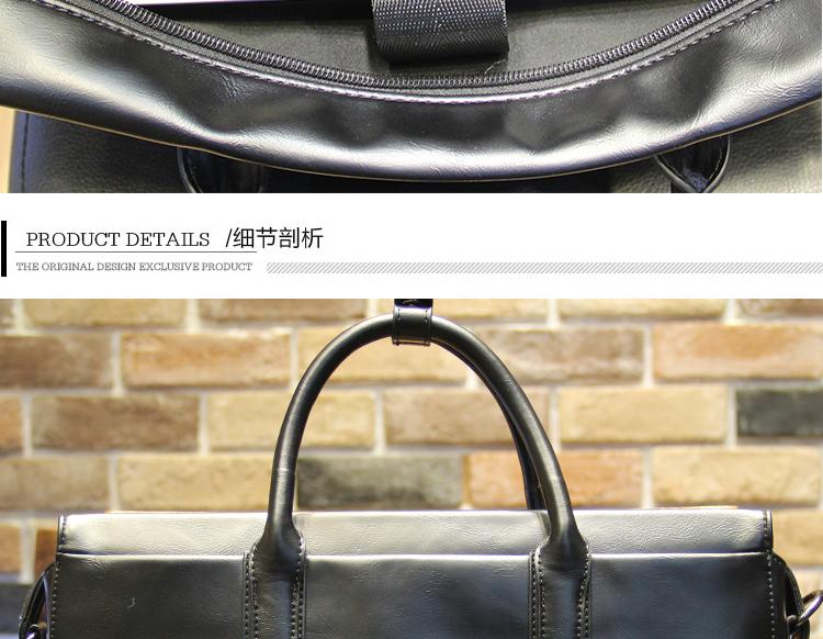 ซื้อ Tidogธุรกิจของคนสบายๆกระเป๋าสะพายกระเป๋าถือข้ามส่วนเกาหลีกระเป๋าน้ำ