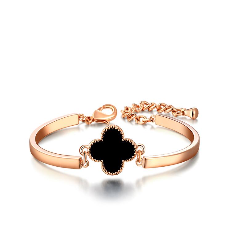 bestfriend gift 18k gold plated Czech stone ladies bangle bracelets for women fashion jewelry bracelets B150110220R(China (Mainland))