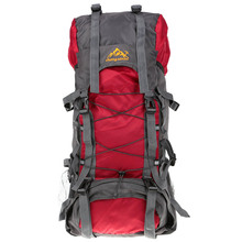 Outdoor Backpack 55L Waterproof Trekking Camping Hiking Bag Mountaineering Climbing Bags Knapsack(China (Mainland))